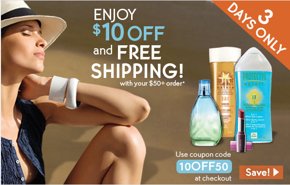 3 Days only! Enjoy $10 Off plus Free Shipping with your $50+ order.