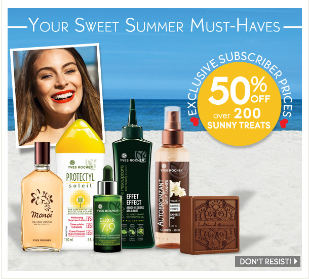 YOUR SWEET SUMMER MUST-HAVES