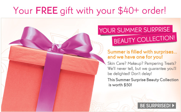 Your FREE gift with your $40+order!